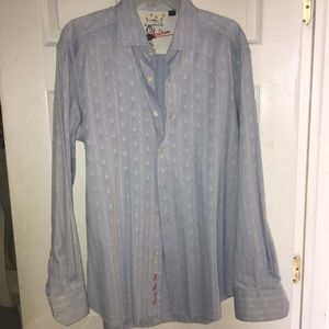 Men's Robert Graham Dress shirt size xl